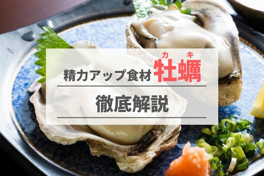 海のミルクとも呼ばれる牡蠣の精力増強効果とは?おすすめの食べ方も紹介