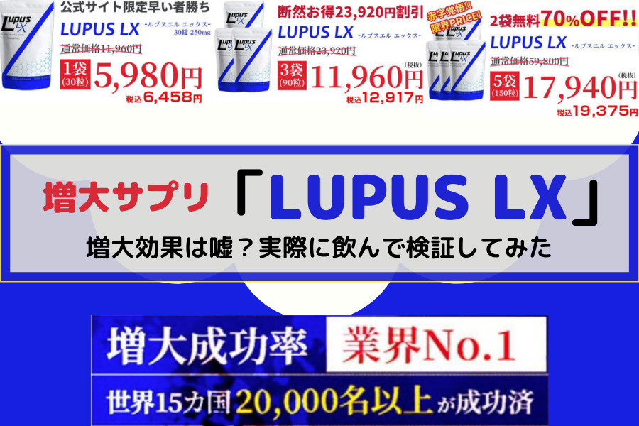 LUPUS LX価格画像
