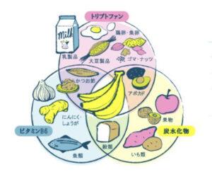 トリプトファン保有食材画像